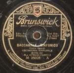 Baccanale Sinfonico. Intermezzo Romantico